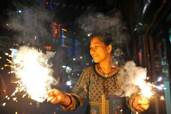 Diwali With the Tharu Tribe (Nat Geo Traveler)
